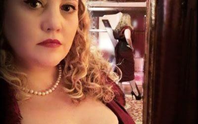 Jayden submits to Aunty Artemisia's Chastity Training