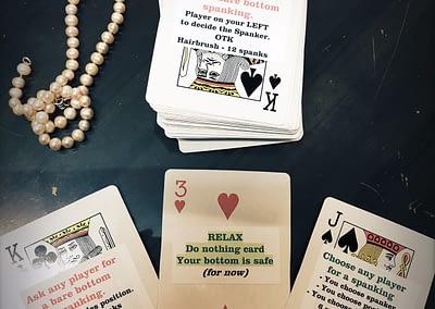 spanking card games Sydney spankee CK Artemisia